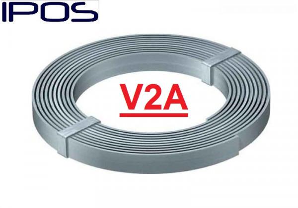 Erdungsband 30x3,5mm 25 Kg V2A Blitschutz Edelstahl
