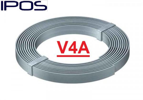 Erdungsband 30x3,5mm 25 Kg V4A Blitschutz Edelstahl