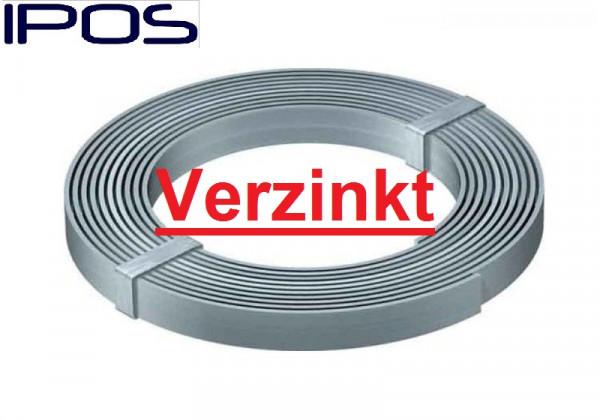 Erdungsband 30x3,5mm 50 Kg Verzinkt Blitzschutz